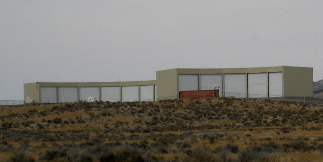 The TALE building at the Telescope Array in Delta, Utah